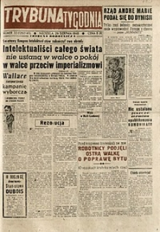 Trybuna Tygodnia, 1948, nr 33