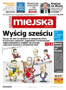 Gazeta Miejska Gliwice Zabrze, 2014, nr 676