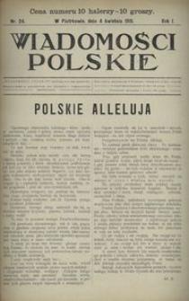 Wiadomości Polskie 1915, nr 24