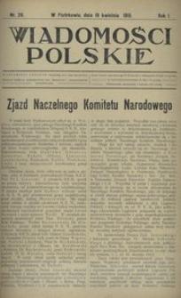 Wiadomości Polskie 1915, nr 26