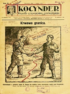 Kocynder, 1922, R. 3, nr 1